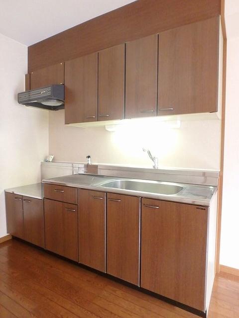 グレースコート11 / 102号室キッチン