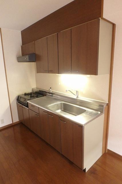 グレースコート11 / 202号室キッチン