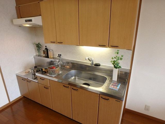 マンテンビュー / 203号室キッチン