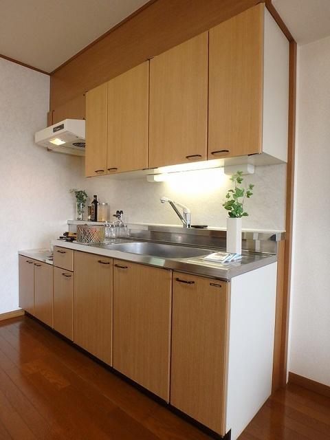 マンテンビュー / 404号室キッチン