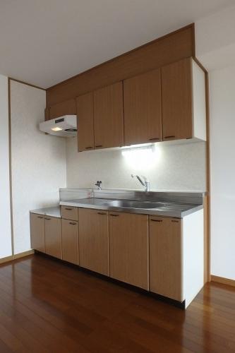 マンテンビュー / 602号室キッチン