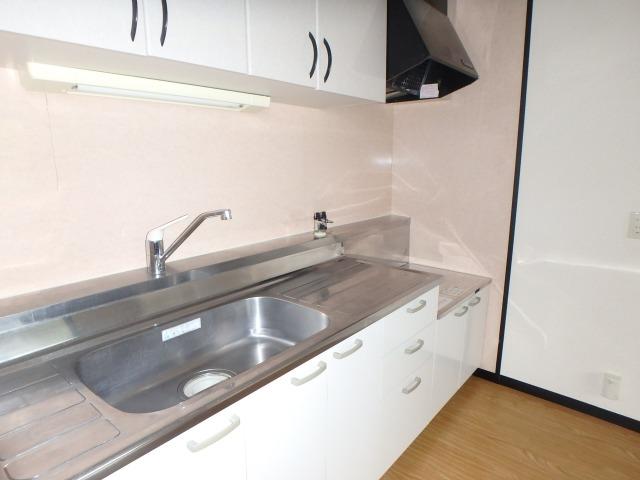 クレールマノワール / 102号室キッチン