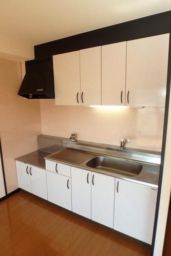 クレールマノワール / 201号室キッチン