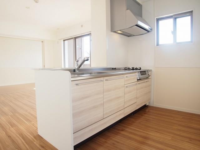 エスパシオ フェリス大野城 / 403号室キッチン