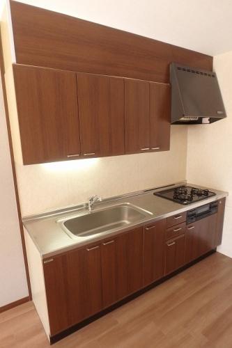クレセントパレス / 402号室キッチン