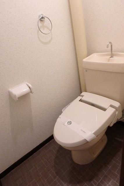 サンハイツ森山 / 206号室トイレ