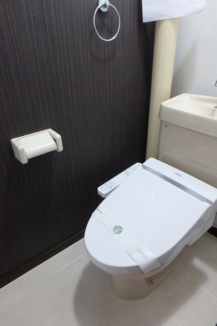 サンハイツ森山 / 403号室トイレ