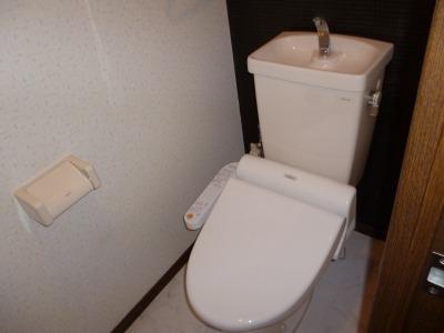 ジュネス東大利 / 306号室トイレ