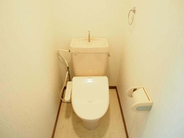 ルミエール東大利 / 201号室トイレ