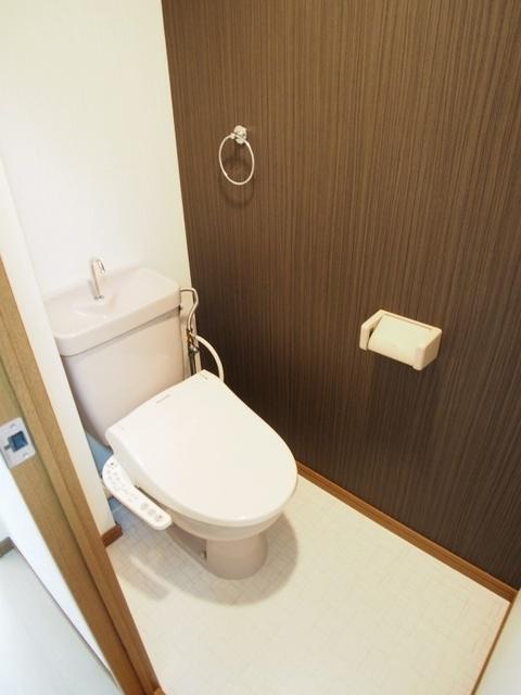 ホワイトヴィラ / 201号室トイレ