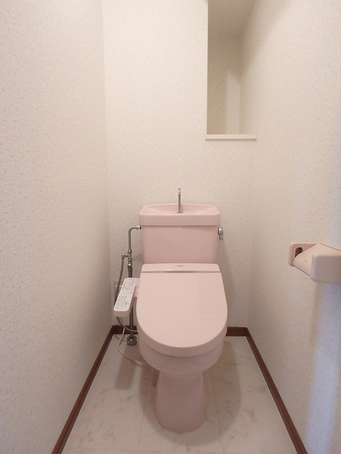 グレースマンション大野城 / 201号室トイレ