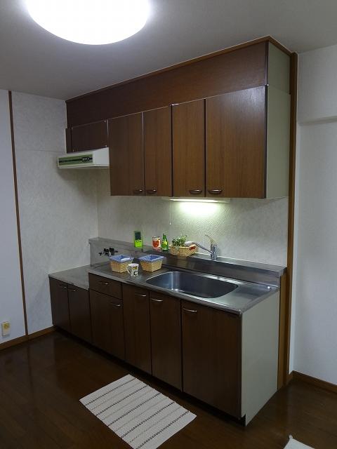 グレースマンション大野城 / 605号室キッチン