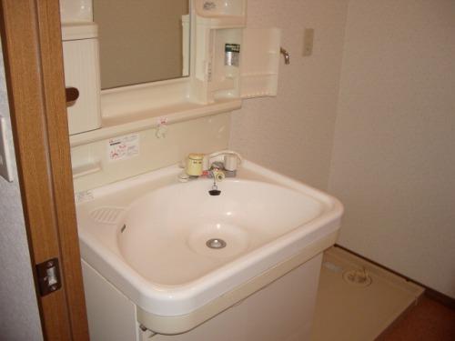 クレール東大利A / 201号室洗面所