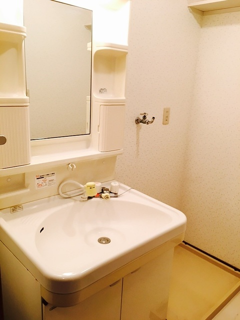 クレール東大利A / 202号室洗面所