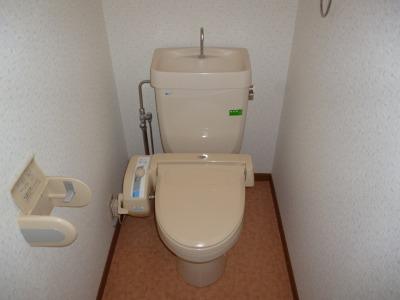 フローラルハイツ / 503号室トイレ