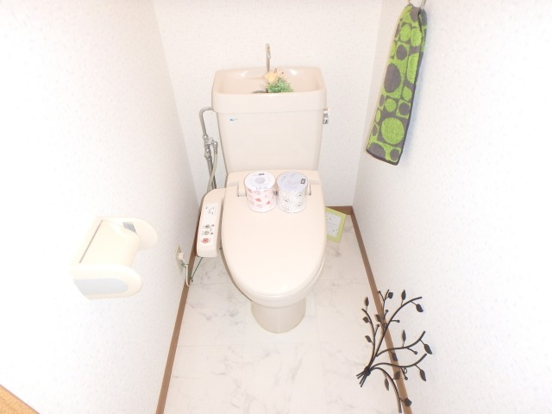 フローラルハイツ / 603号室トイレ