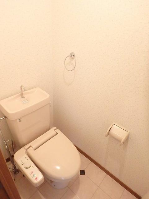グレースコート11 / 401号室トイレ