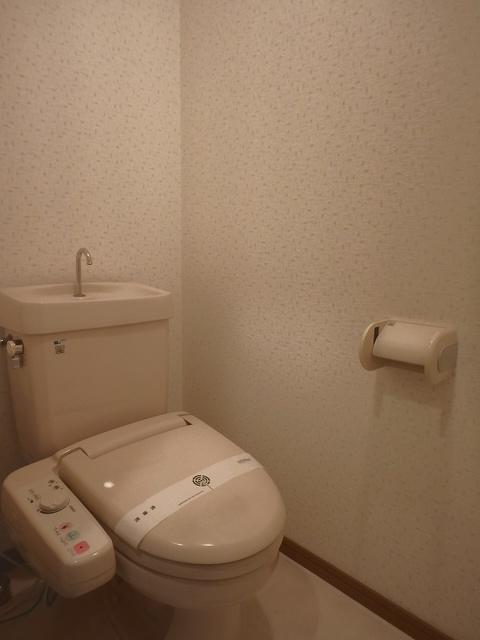 マンテンビュー / 404号室トイレ