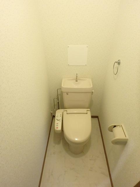 マンテンビュー / 604号室トイレ