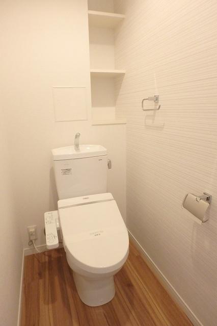 サクセス上大利 / 203号室トイレ