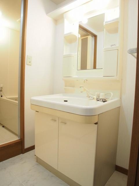 ホワイトヴィラ / 302号室洗面所