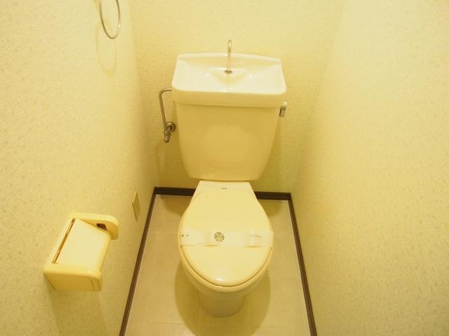 ベルハイツ / 107号室トイレ