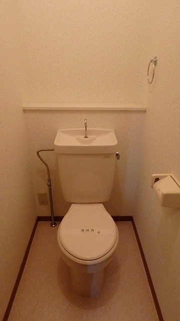 サンハイム日永田 / 101号室トイレ