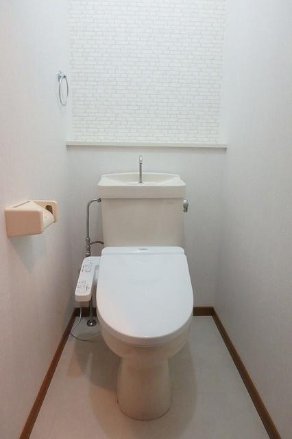 サンハイム日永田 / 102号室トイレ