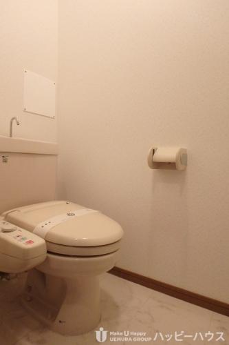 マンテンビュー / 204号室トイレ