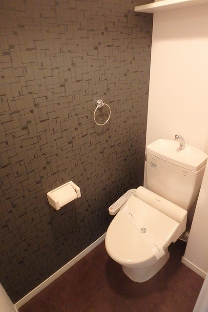 シャトレ五番館(ペット可) / 501号室トイレ