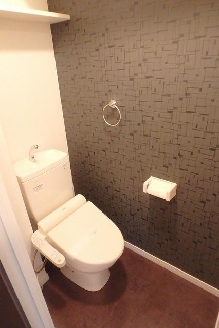 シャトレ五番館(ペット可) / 503号室トイレ
