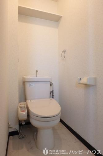 ピュア春日公園 / 803号室トイレ