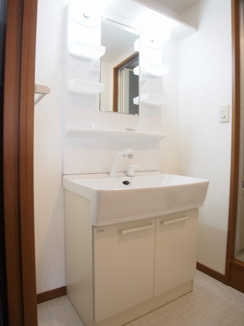 ホワイトヴィラ / 201号室洗面所
