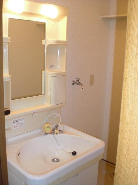 クレール東大利B / 302号室洗面所