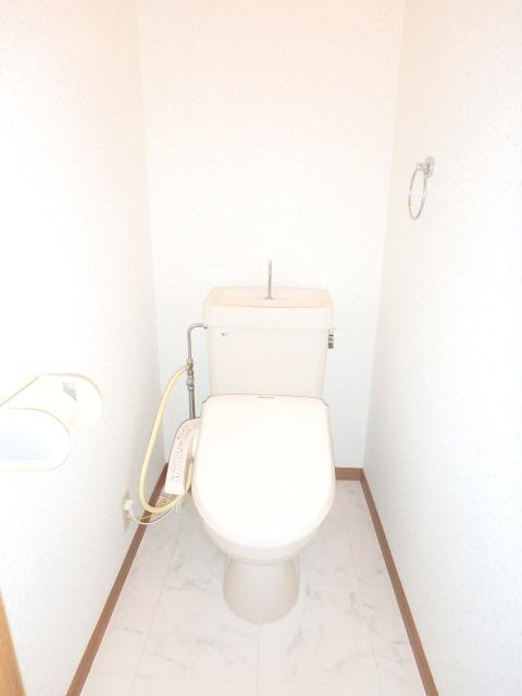 フローラルハイツ / 403号室トイレ