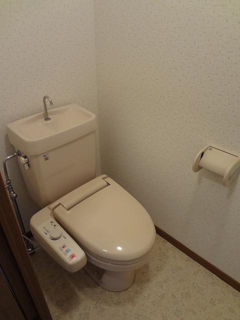 マンテンビュー / 304号室トイレ