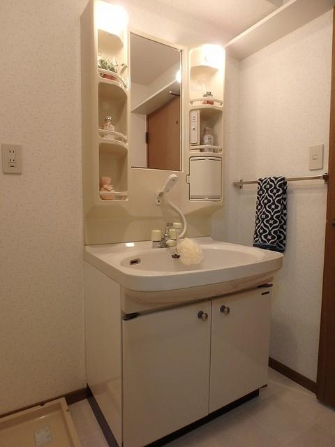 マンテンビュー / 503号室洗面所
