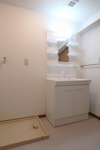 マンテンビュー / 602号室洗面所