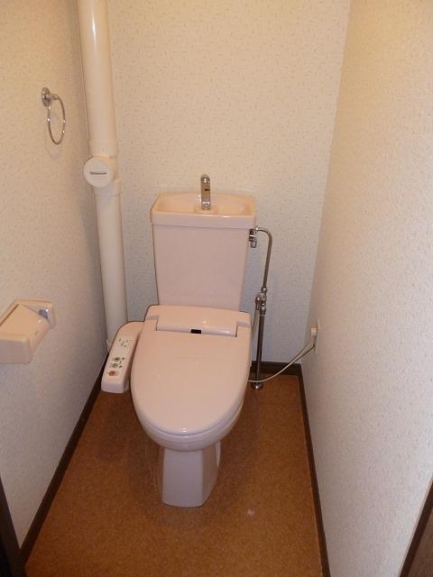 セントラルハイツ / 302号室トイレ