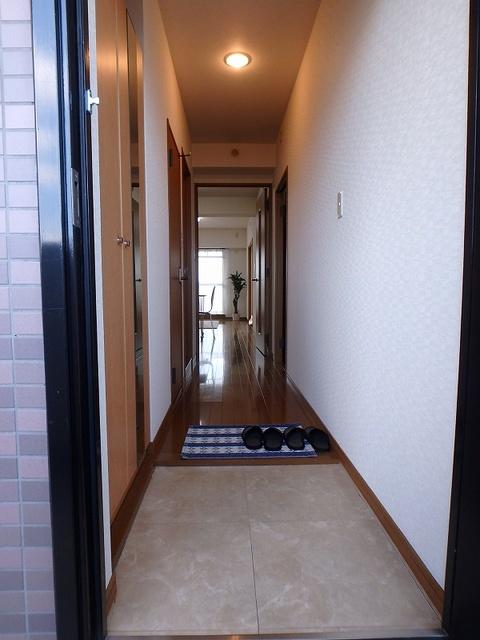 マンテンビュー / 404号室玄関