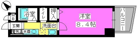 メゾンド・クレール / 203号室間取り