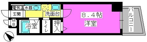 メゾンド・クレール / 305号室間取り