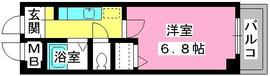 キャロット385 / 402号室間取り