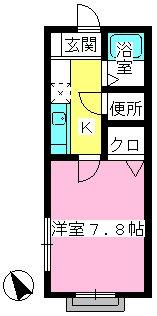 メゾン・ド・アイム / 101号室間取り