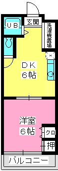 伊勢コーポ / 101号室間取り