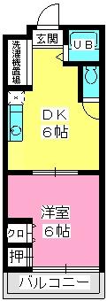 伊勢コーポ / 102号室間取り