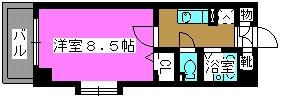ヴィラ・シビック / 501号室間取り