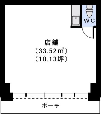 ルグラン博多駅南 / 1号室間取り