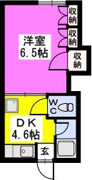 第2光コーポ / 203号室間取り