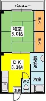 永松ビル / 201号室間取り